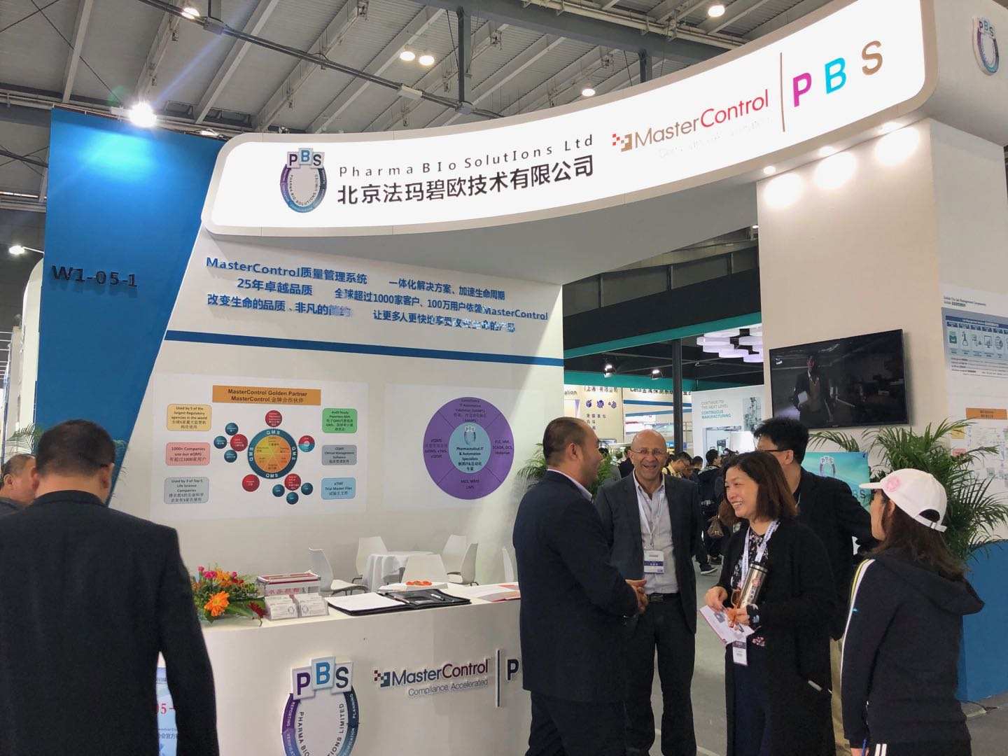 PBS participates in 2019 (Spring) China International Pharmaceutical Machinery Exhibition